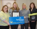Helpline Center February Volunteer of the Month
