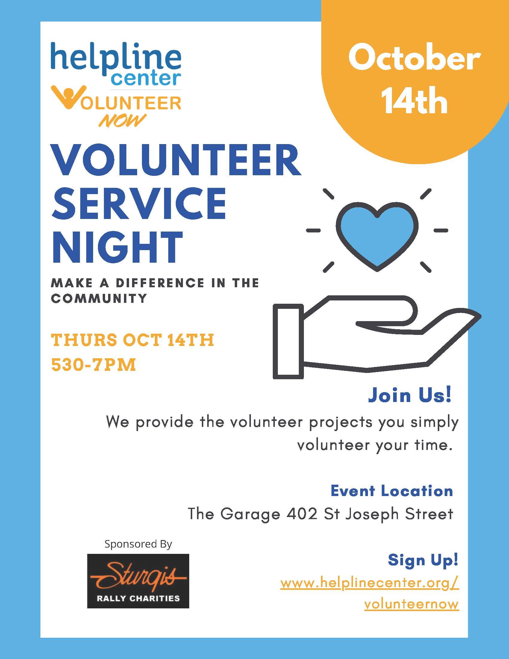 2021 RC Service Night