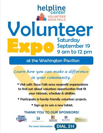 Volunteer EXPO Flyer 2015