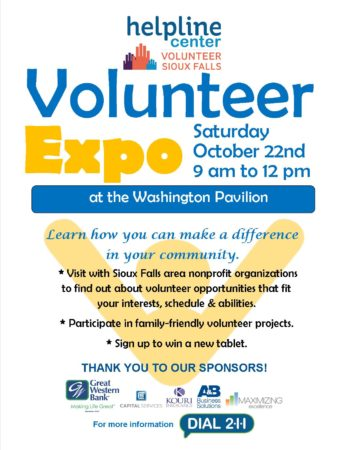 Volunteer EXPO Flyer 2016