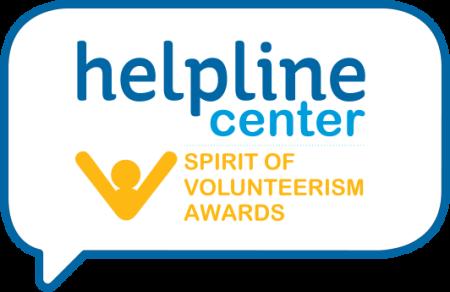 Spirit of volunteerism awards luncheon helpline center